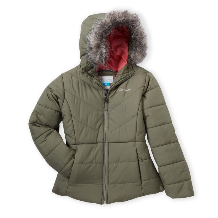 Columbia 哥伦比亚 Katelyn Crest Puffer Jacket 7-16岁女童棉服