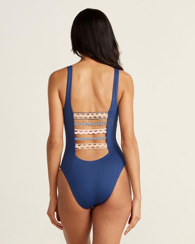 ISABELLA ROSE Crochet Ladder Back 一件式泳衣 .99(约342元) - 海淘优惠海淘折扣|55海淘网