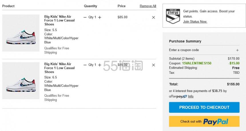 【限时高返15%】FinishLine:精选 adidas、Nike 等运动鞋服 满额最高减 - 海淘优惠海淘折扣|55海淘网