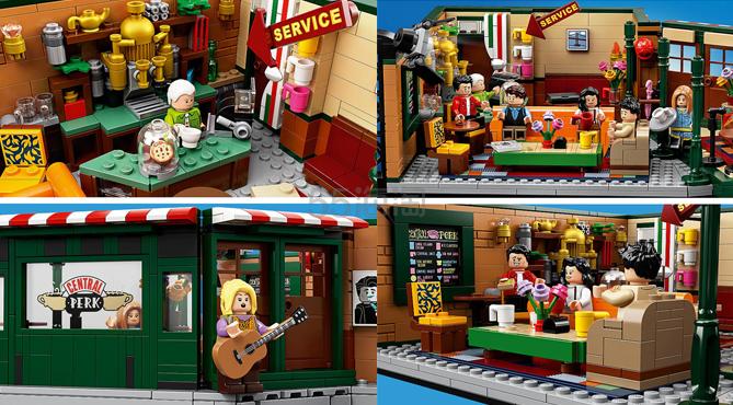 【一件直邮】LEGO 乐高 IDEAS 全新作品《老友记》 21319 £52.99(约479元) - 海淘优惠海淘折扣|55海淘网