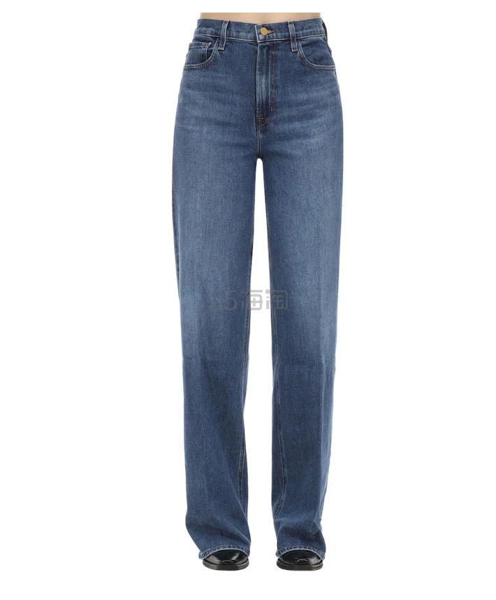 J BRAND ELSA MONDAY 棉质直筒阔腿牛仔裤 0(约898元) - 海淘优惠海淘折扣 55海淘网