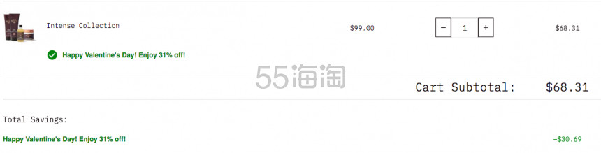 【55专享】可直邮!Grow Gorgeous 强韧防脱洗护套装 .31(约472元) - 海淘优惠海淘折扣|55海淘网