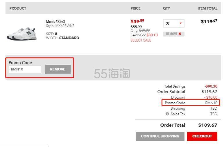 Joes New Balance Outlet:精选 新百伦 男女运动鞋 满0立减 - 海淘优惠海淘折扣|55海淘网
