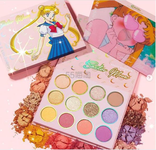 Colourpop  X 美少女战士系列彩妆 2月21号凌晨2点上新 - 海淘优惠海淘折扣|55海淘网