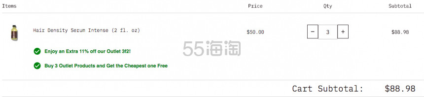 【可直邮】买3付2+额外8.9折!Grow Gorgeous 老款生发防脱精华加强版 60ml