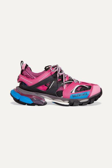 Balenciaga Track 标志细节网眼橡胶运动鞋 6.5(约4,371元) - 海淘优惠海淘折扣 55海淘网