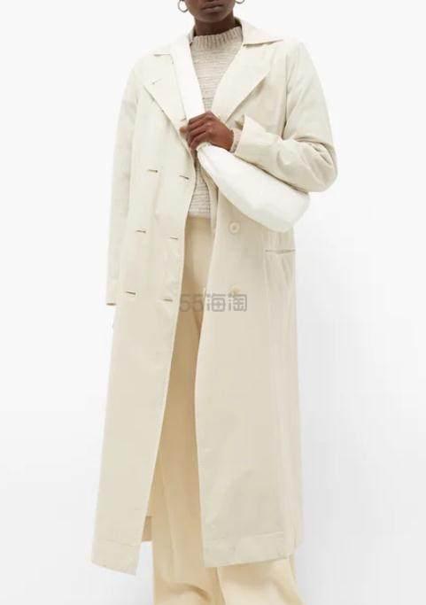 LEMAIRE Knotted 白色小号牛角包 €525.6(约4,113元) - 海淘优惠海淘折扣|55海淘网