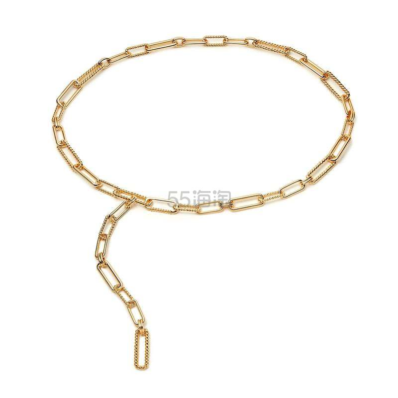 上新!Missoma 金色锁扣链条腰带 £236(约2,077元) - 海淘优惠海淘折扣|55海淘网