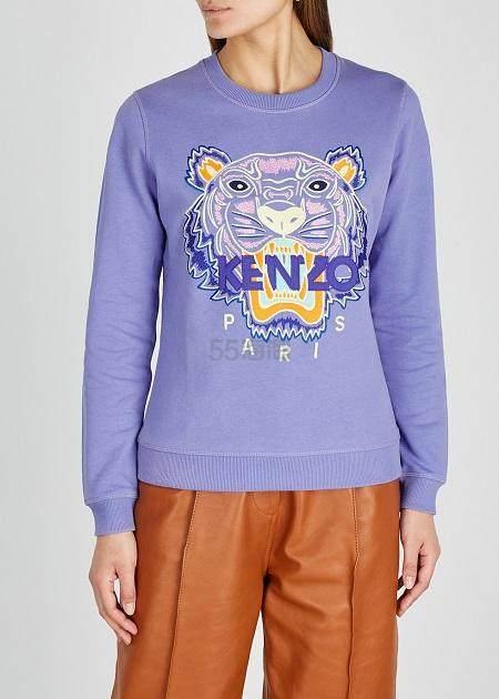 KENZO 女款虎头卫衣 多色可选 6.25(约1,027元) - 海淘优惠海淘折扣|55海淘网