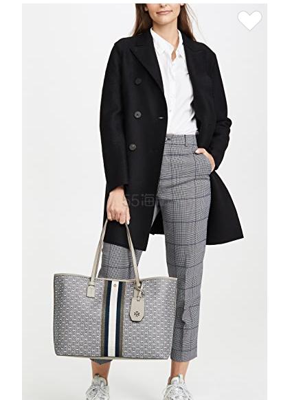 Tory Burch 双链式帆布手提袋 0.6(约1,260元) - 海淘优惠海淘折扣|55海淘网