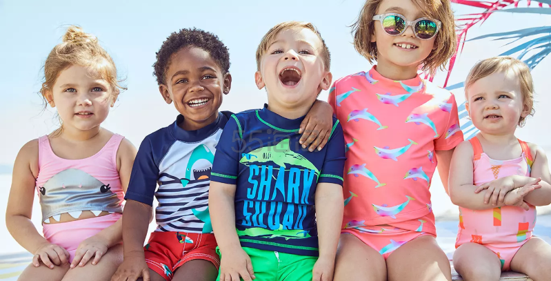 Carters:美国官网童款泳衣 5折特卖 - 海淘优惠海淘折扣|55海淘网