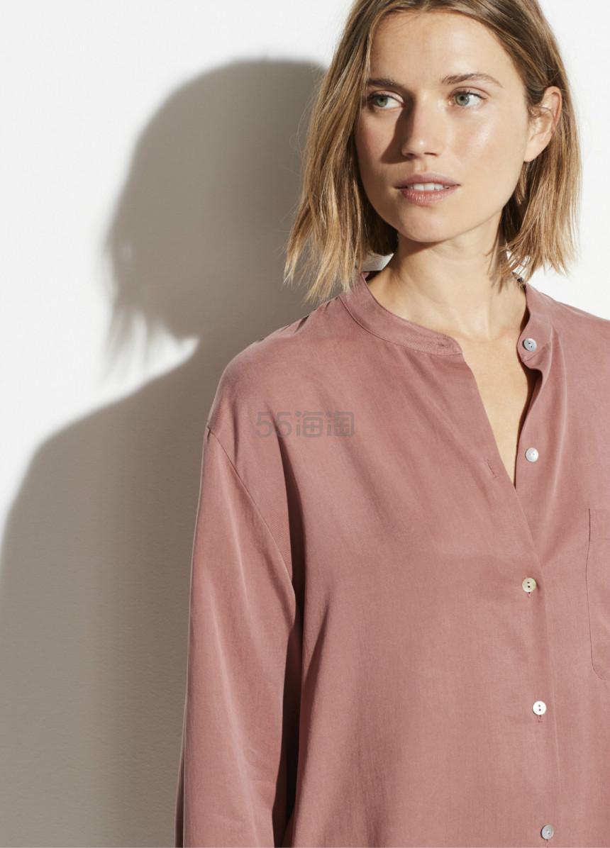VINCE. Relaxed Band Collar 立领衬衫 7(约1,238元) - 海淘优惠海淘折扣|55海淘网