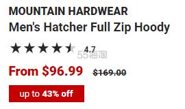 Mountain Hardwear 山浩 男士连帽衫