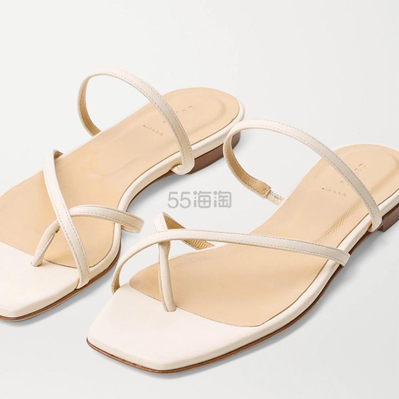 AEYDĒ Marina 皮革拖鞋 1.06(约997元) - 海淘优惠海淘折扣|55海淘网