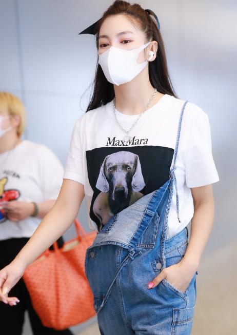 【张雨绮同款】MAX MARA Abetaia 印花T恤