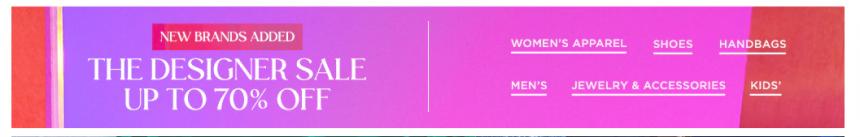【新品加入】Saks Fifth Avenue:精选 时尚设计师品牌 服饰鞋包 低至3折 - 海淘优惠海淘折扣|55海淘网