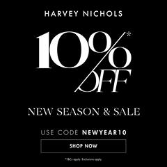 延期!Harvey Nichols:精选服饰鞋包、美妆香氛