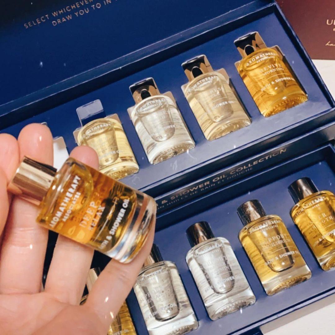 LF英国站:Aromatherapy Associates 收沐浴油,香薰精油