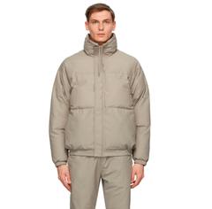 SSENSE官网:Essentials Puffer Jacket 灰色棉服 上新