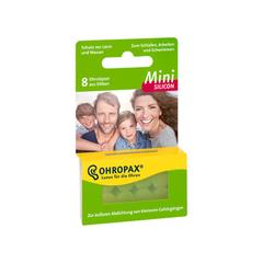 【6.7折】Ohropax  Mini小号亲肤硅树脂防噪音耳塞 8只