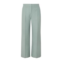 【3折】VALENTINO 羊毛真丝混纺绉纱阔腿裤