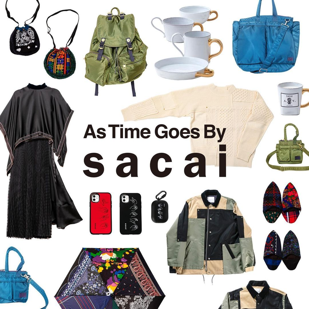 Sacai 独特风格 日本设计师品牌