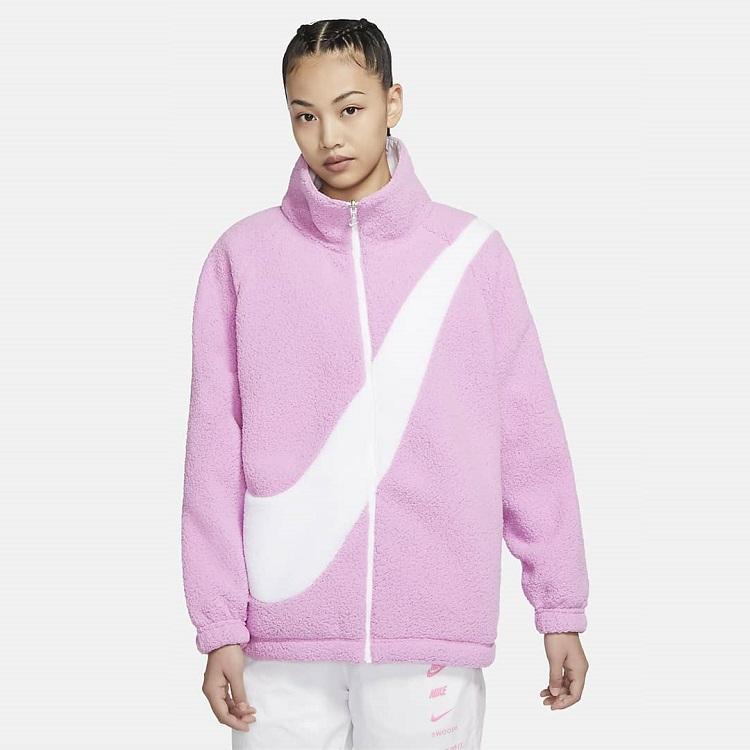 降价!Nike 耐克 Sportswear 双面穿大勾羊羔毛外套