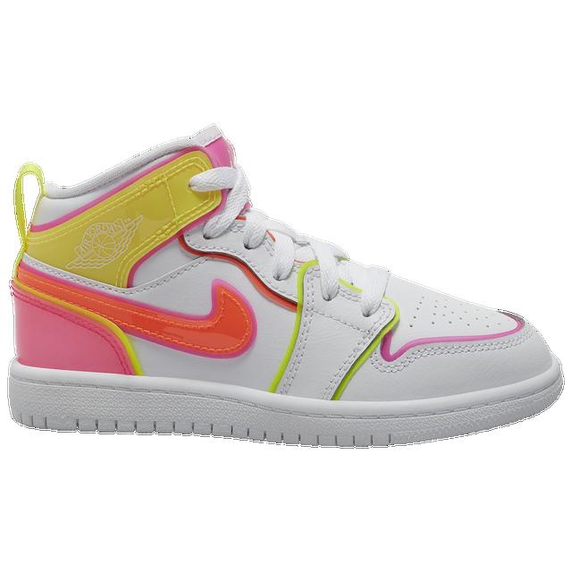 Eastbay官网:Jordan AJ 1 Mid Edge Glow 女生童鞋