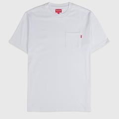 HBX官网:Supreme POCKET SS T-SHIRT 口袋logoT恤