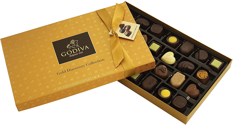 Godiva 歌帝梵 金装品鉴系列 28颗巧克力礼盒装