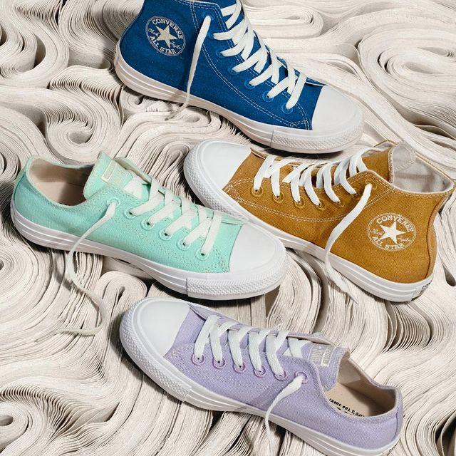 Converse美网:Colors Chuck Taylor All Star 多色帆布鞋