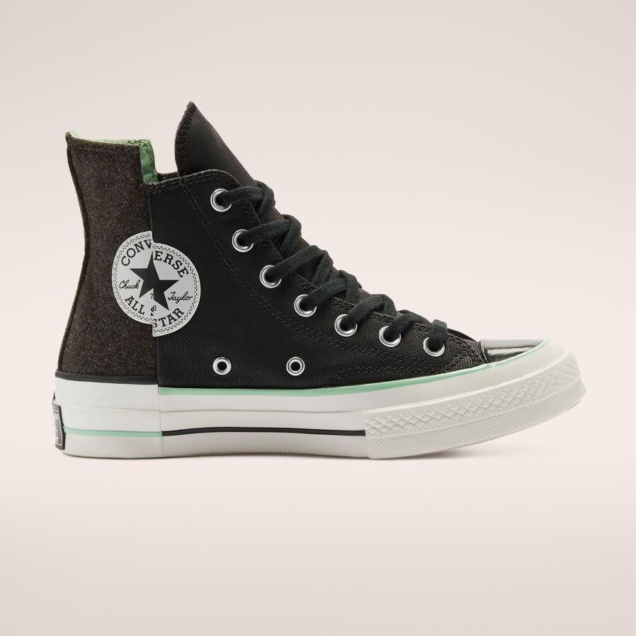 Converse美网:Black Ice Chuck 70 女鞋 黑色