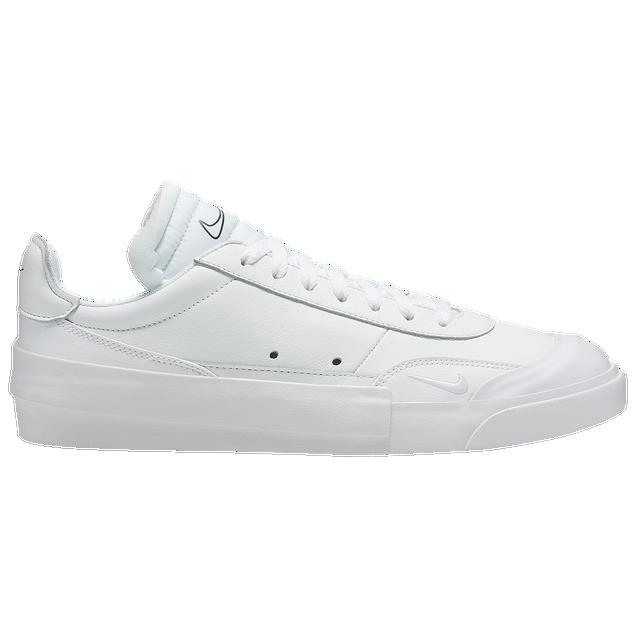 Final Score 官网:Nike耐克 Drop-Type 纯白结构低帮运动鞋 黄金码