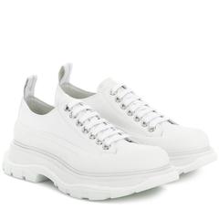 【7折】Mytheresa官网:Alexander McQueen 麦昆小白鞋