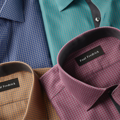 Paul Fredrick:正式场合必备 男士正装衬衫