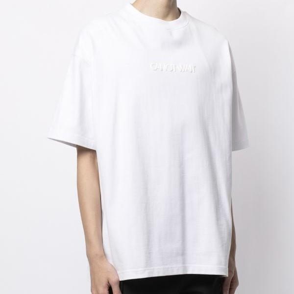 【陈伟霆主理】CANOTWAIT_发泡印花 Logo 短袖T恤