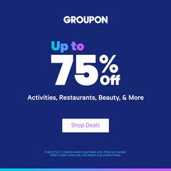 Groupon US:出行活动、美容护肤等服务