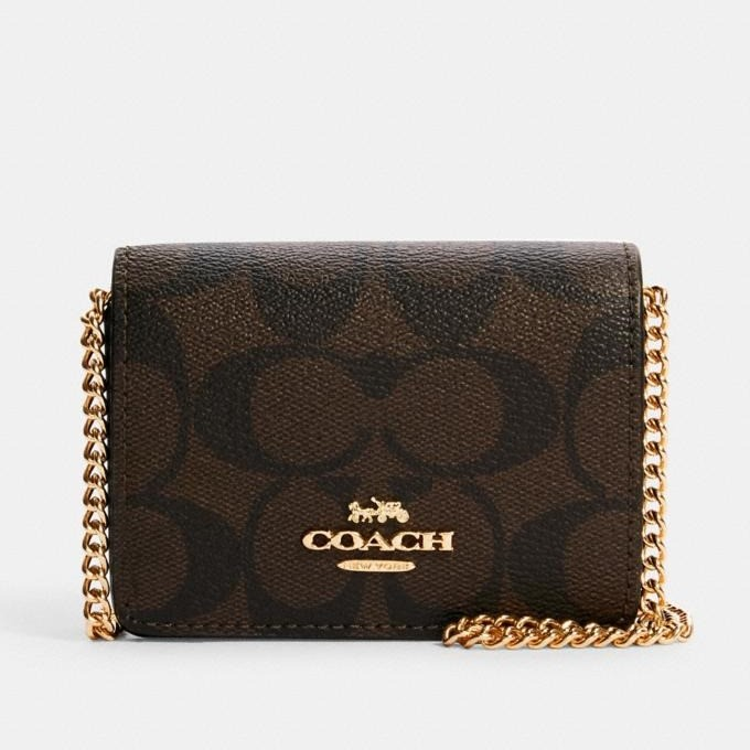 Coach Wallet on the Chain