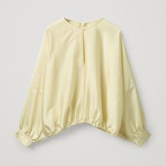 【新用户首单9折】COS 灯笼袖圆领上衣 (国内专柜¥690)