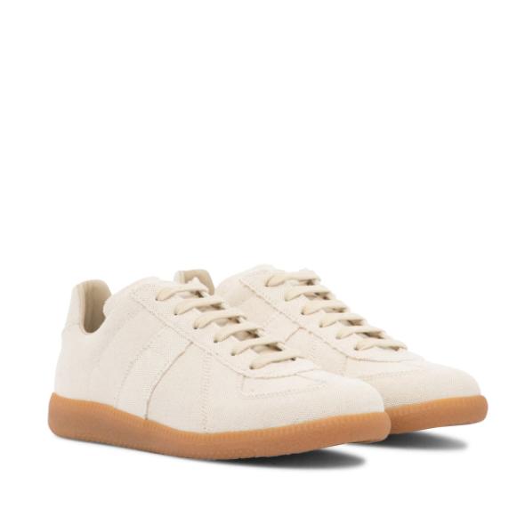 MAISON MARGIELA Replica linen sneakers