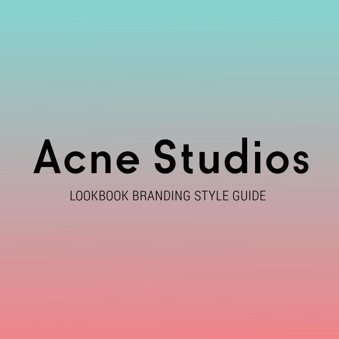 LN-CC UK:ACNE STUDIO 上新