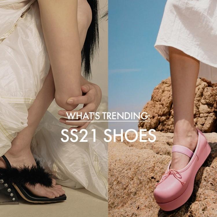 W Concept:2021春夏时尚美鞋