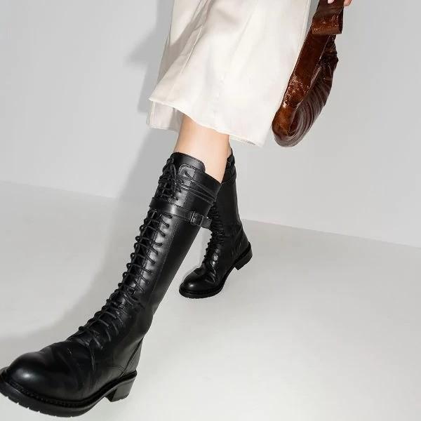 Mytheresa:ANN DEMEULEMEESTER骑士靴热卖
