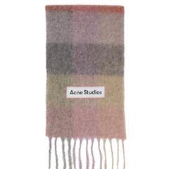 【含税直邮】Acne Studios 马海毛格纹围巾 (美站定价$380)