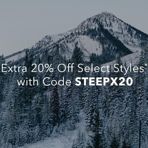 Steep&Cheap官网:精选户外运动装备折扣区