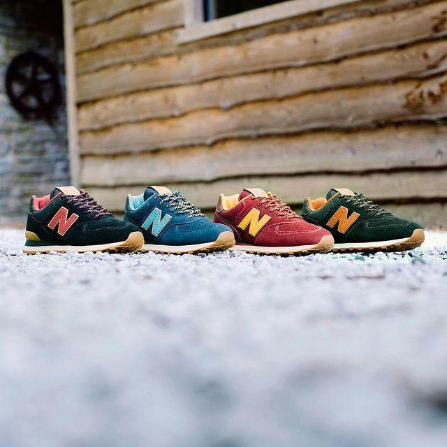 New Balance美国官网:精选新百伦经典574球鞋系列