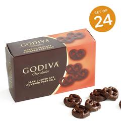 【1件8折,2件7.5折,3件7折】Godiva mini黑巧克力椒盐脆饼