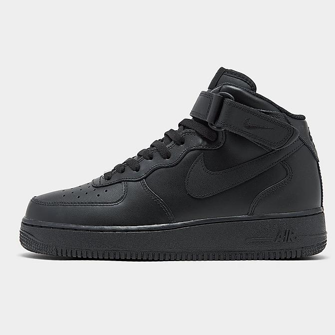 Nike BIG KIDS' NIKE AIR FORCE 1 MID CASUAL SHOES