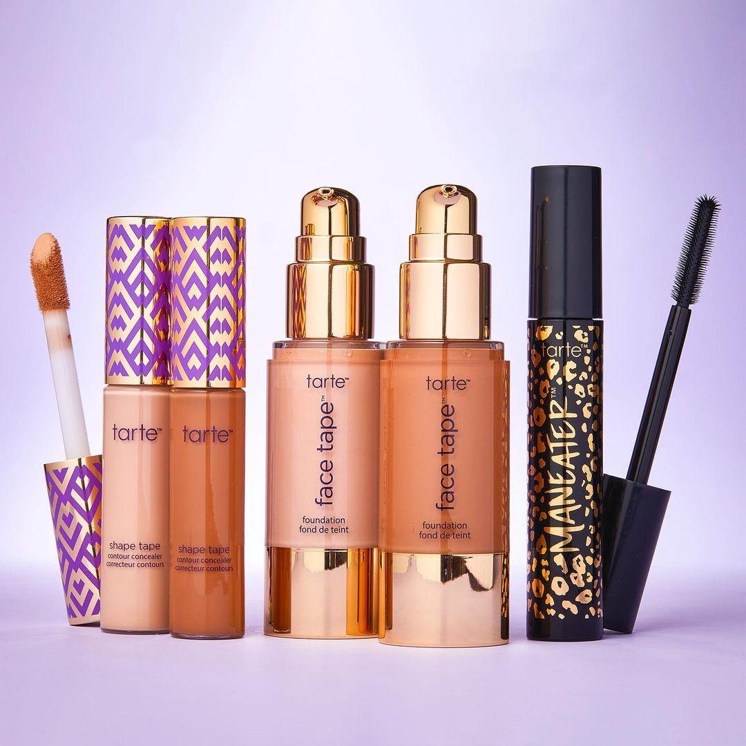 Tarte: Half price for the second makeup item
