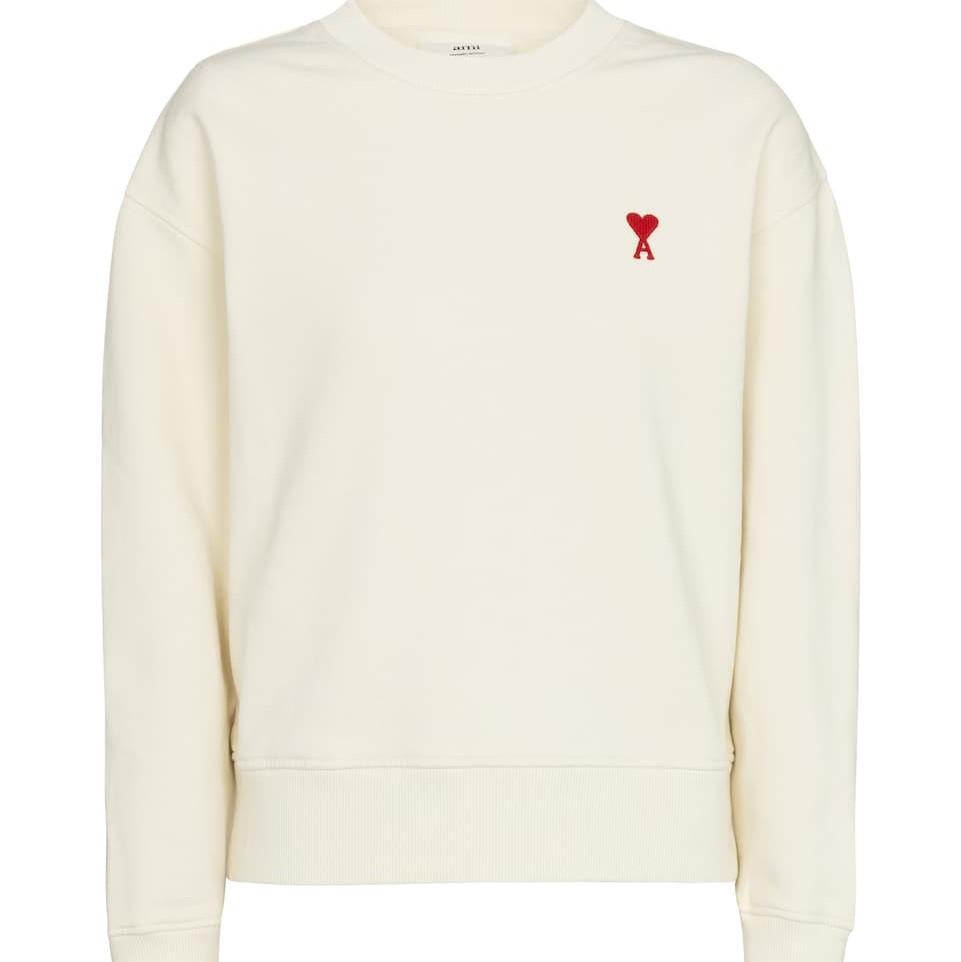 AMI PARIS Exclusive to Mytheresa – Ami de Cœur cotton sweatshirt